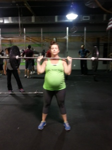 CrossFit and pregnant: Leslie
