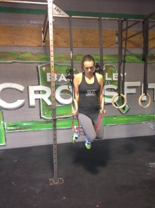 Ring dips with Baby L; 19 weeks