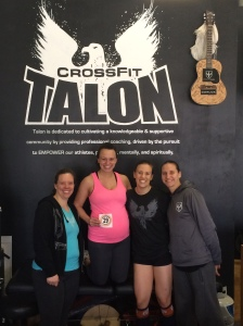 With the women of CrossFit Talon