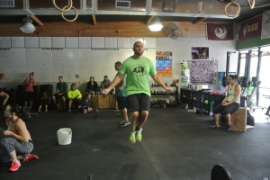 Poppa killing double unders