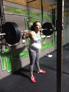 Back Squat 135#