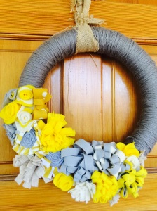Wreath close-up