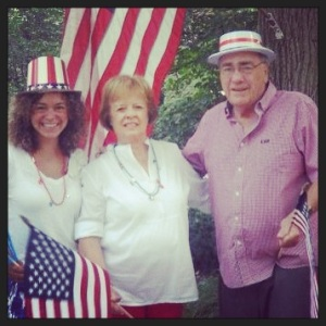 With Mimi & Doyle - July 4th - 2012