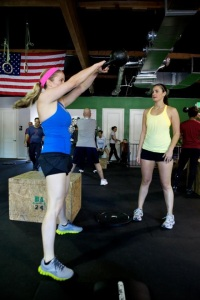 Kettlebell swings - prebump