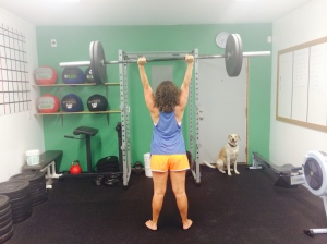 Lifting at CrossFit Beat