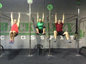 Monkey Swings at Back Alley CrossFit