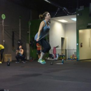 Double unders! (photo courtesy of Back Alley CF)