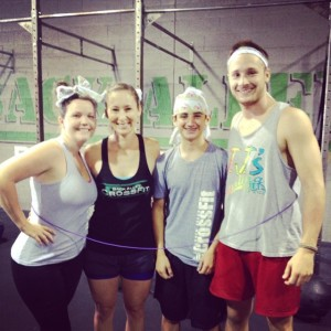 Team WOD (photo courtesy of Back Alley CF)