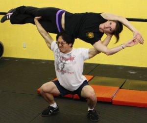 Leon & Alessandra credit: CrossFit Elysium