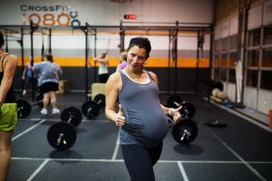 Allie is CrossFit 1080's designated photographer, so she's rarely in front of the camera. Isn't she darling!?