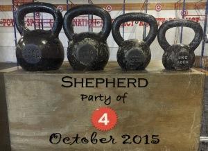 shepherd party of 4