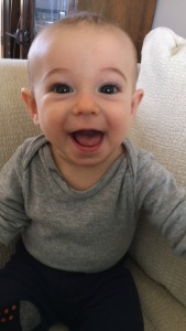 Fussy or not, isn't this the sweetest face?!