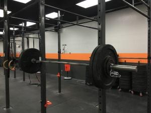 Front squat. 100#