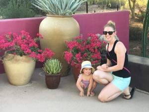 FG & AuntRaRa at the Gardens