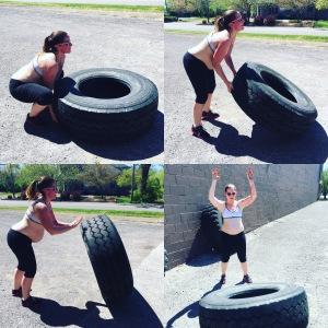 Tire flips